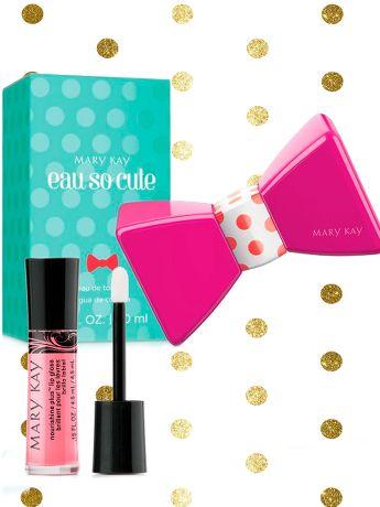 Set Navidad: Eau So Cute™ Eau de Toilette y Brillo de Labios Pink Parfait - Mary Kay