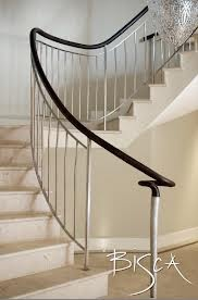 open tread plaster staircase balustrade - Google Search