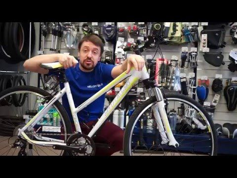 Велосипед Stels Cross 130 Lady 2016 Обзор.