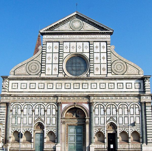 Santa Maria Novella, Florence, Italy (The most beautiful church I have ever seen on the inside)