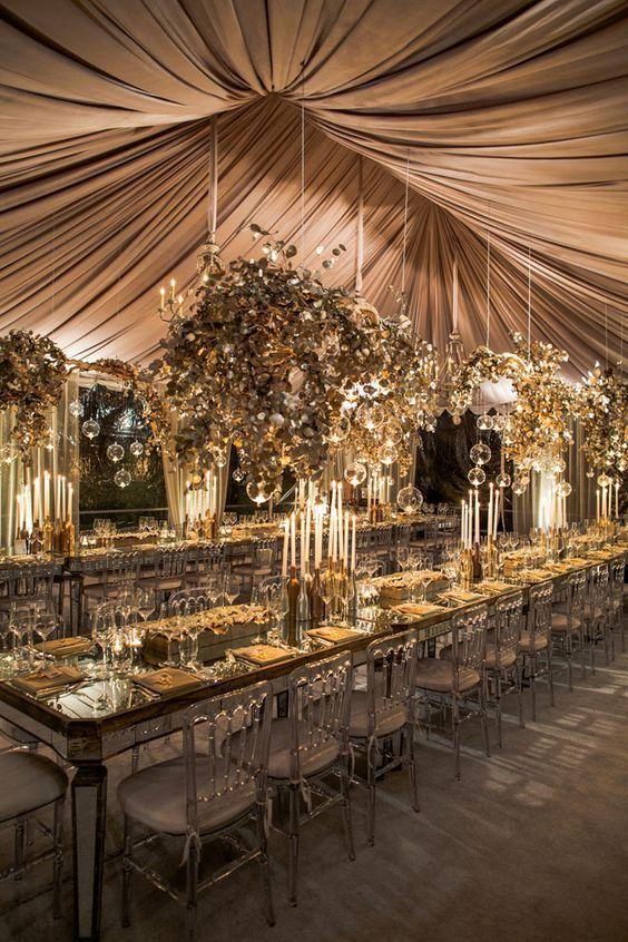 Magnifique décor pour un mariage de princesse