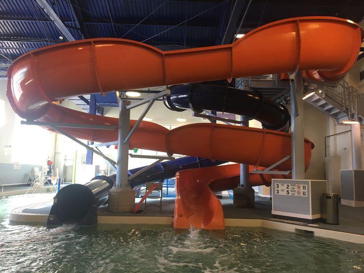 Indoor water slides ️ KSC Water slides, Water park
