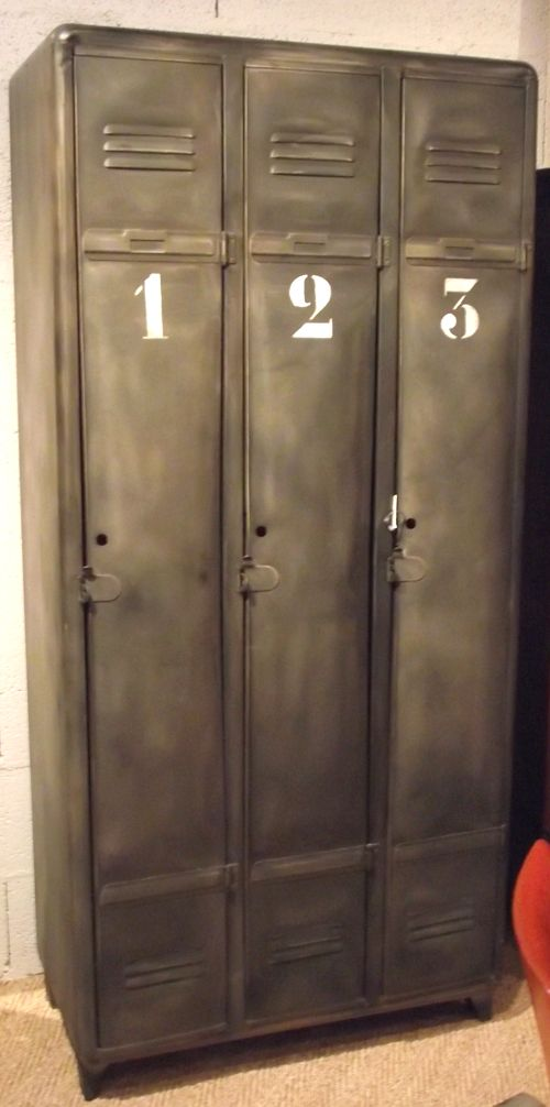 The 25 best ideas about vintage lockers on pinterest for Metal lockers ikea