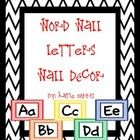 These bright, fun, chevron word wall letters posters are perfect for decorating your classroom! They are large enough for students to view from all...