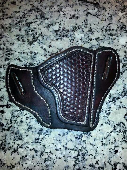 Pancake holster for Ruger SP101 by LeaninH