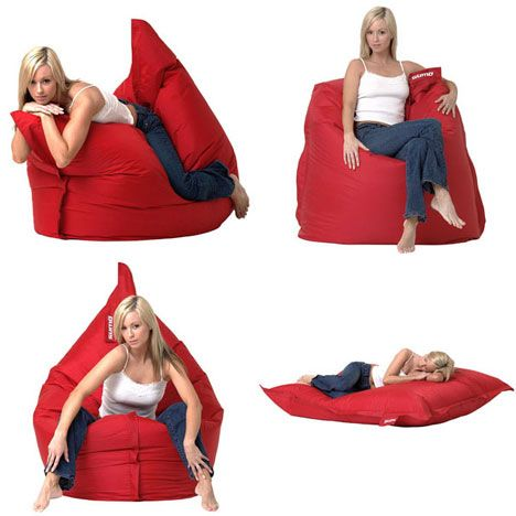 We got our hands on a Sumo Omni, an uber bean bag that looks like a giant (4.5′ x 5.5′ – 18lbs) pillow! The cool thing is, unlike traditional bean bags, this one can be modeled in different shapes depending on your activity.  ($125-150.00)