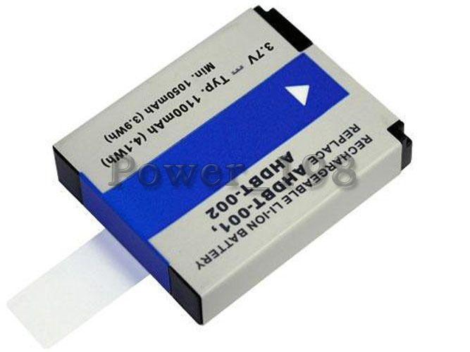 1100mAh Camcorder Battery for GoPro HD Hero AHDBT-001 3.7V Lithium-ion (Li-ion) #PowerSmart
