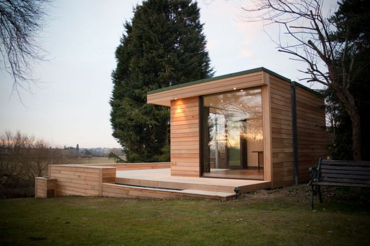 Contemporary Garden Studios by in.it studios