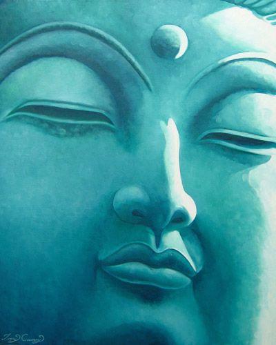 The serenity of Buddah