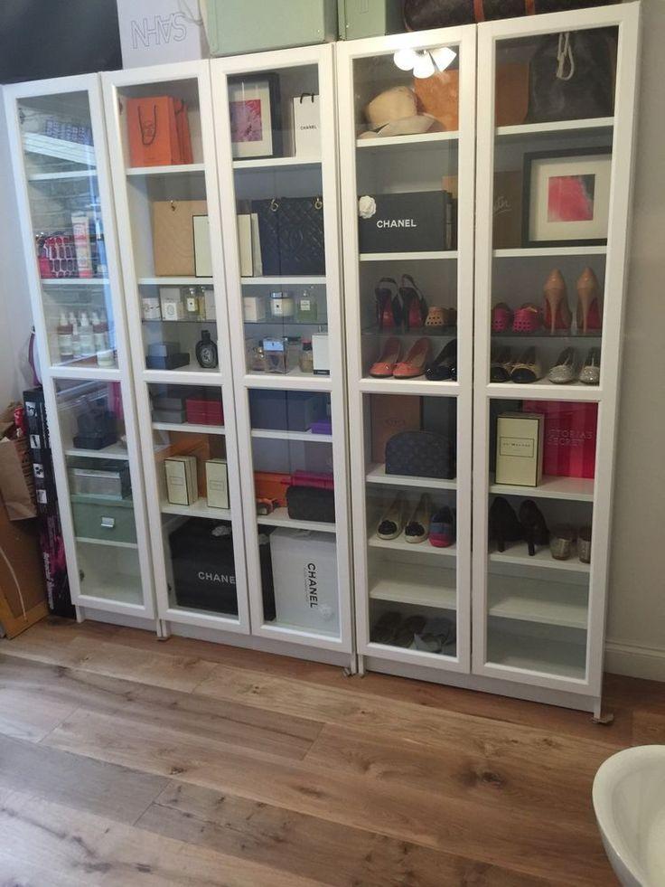 Ikea Billy Oxberg Bookcase  Closet Envy  Ikea billy