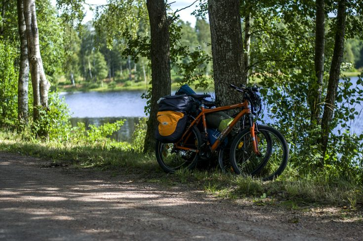 Radreise Schweden Fahrrad