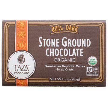 Taza 80% Stone Ground Organic Chocolate Bar