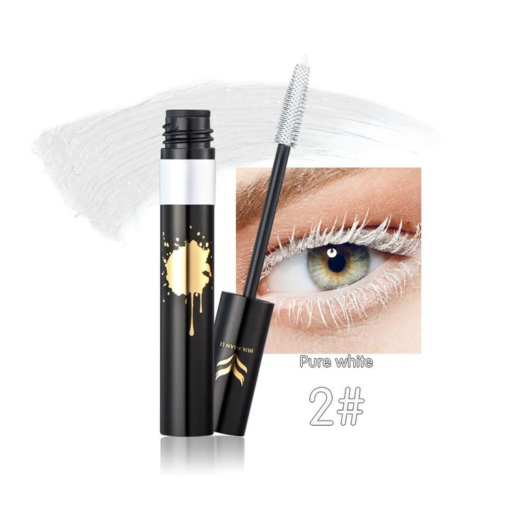 Kazora 8 Colors Mascara Colorful Eyelash Makeup Lash Eyelashes Foundation Waterproof Anti-sweat (2# pure white). Colorful mascara, 8 colours available. Net weigt: 8g/0.28 oz. Features: Containing unique silk fiber, it warps each eyelash and forms a protective film on the eyelashes. Supply eyelash is clearly separated and waterproof without cracking. Volume & Length in Thin Short Eyelashes. Make your eye lash beautiful and attractive. Range of application: Ideal choice for photography…