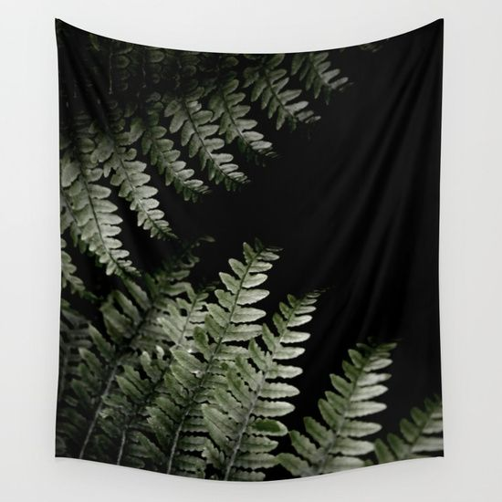15% OFF + Free Shopping On Tapestries -- Grow In Darkness Wall Tapestry by ARTbyJWP from Society6 #tapestry #walltapestries #homedecor #blackandgreen #botanical --  Available in three distinct sizes, our Wall Tapestries are made of 100% lightweight polyester with hand-sewn finished edges. Featuring vivid colors and crisp lines, these highly unique and versatile tapestries are durable enough for both indoor and outdoor use. Machine washable for outdoor enthusiasts, with cold water on gentle…