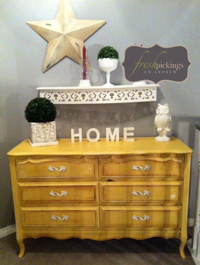 Fresh decor....re {loved} dresser and accessories....all styled by Kimberly R!