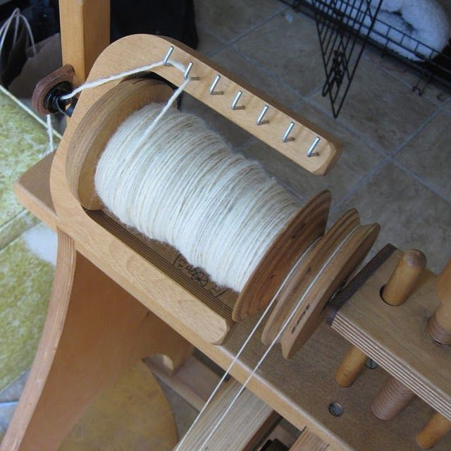 How to spin Yarn.
