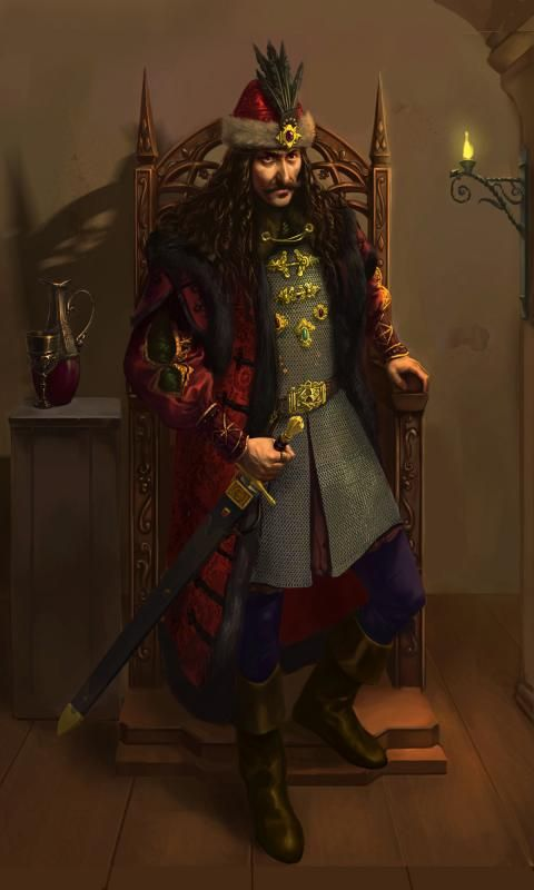 Vlad Tepes (the impaler) Drawing by Dan Ianos -personal project - WetCanvas