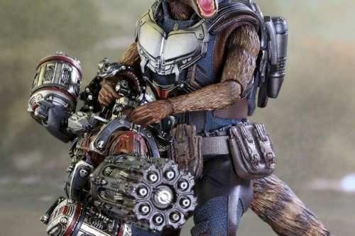 Spettacoli: #Guardiani della #galassia 2: nuova action figure Hot Toys di Rocket Raccoon (link: http://ift.tt/2lu09KM )