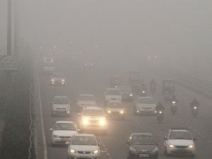Urban air pollution and its effect on fog occurrence: a view from Northern India