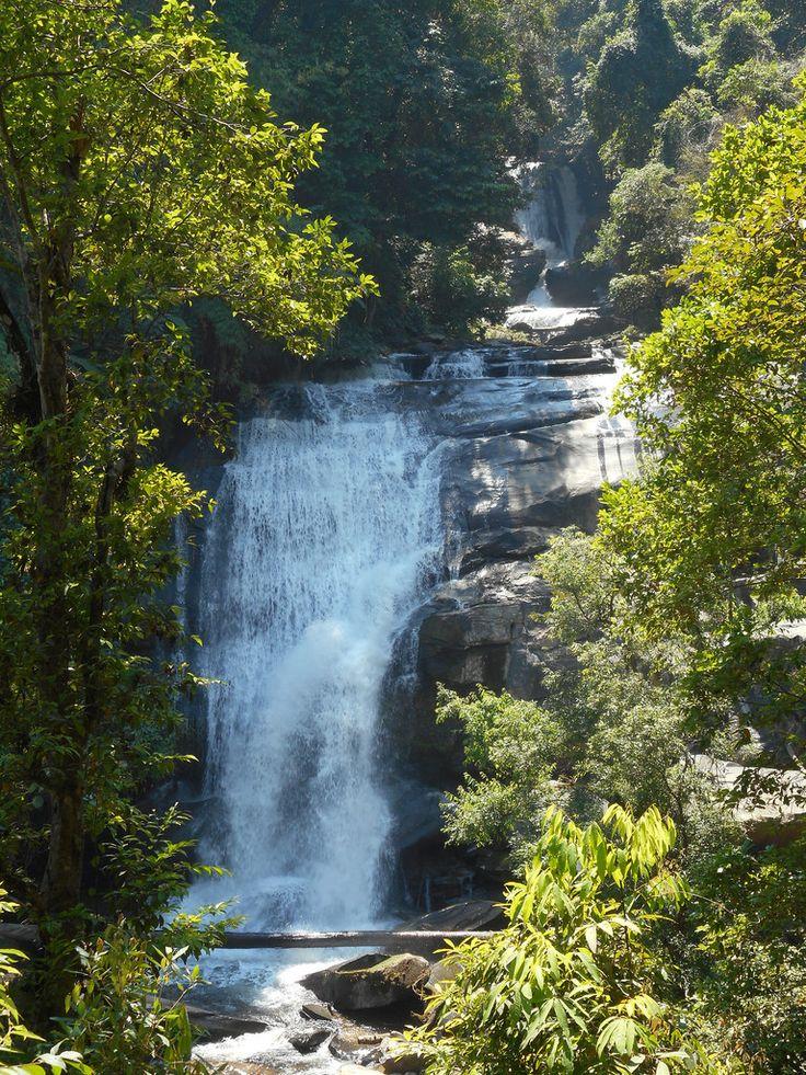 Wachirathan Waterfall, Doi Inthanon national park, northwest Chiang Mai