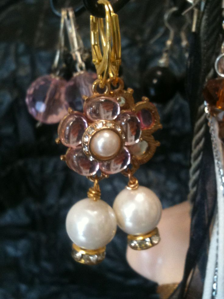 Earrings jewelry. Hand made in Italy.