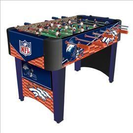 #Denver #Broncos Foosball Table