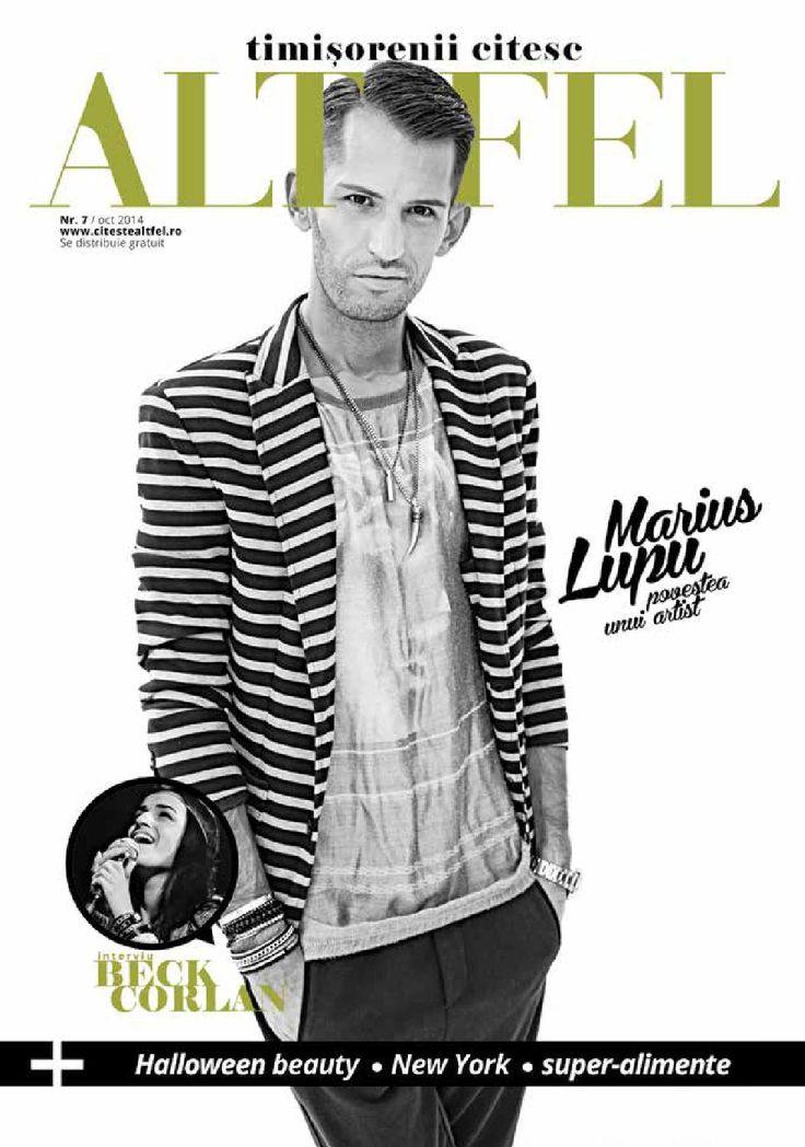 Revista Altfel October 2014 - Altfel magazine @alegriadaimorte