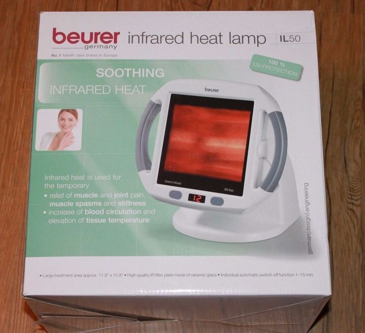 infrared heat lamp for muscle pain and cold relief light therapy. Black Bedroom Furniture Sets. Home Design Ideas