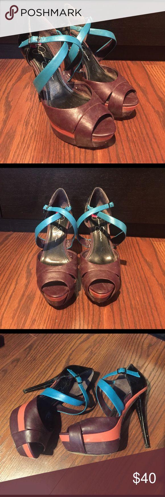 Jessica Simpson Heels Gently worn. Jessica Simpson heels. Jessica Simpson Shoes Heels