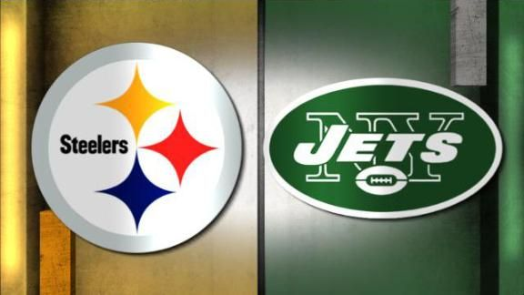 Watch Jets vs Steelers Live NFL game