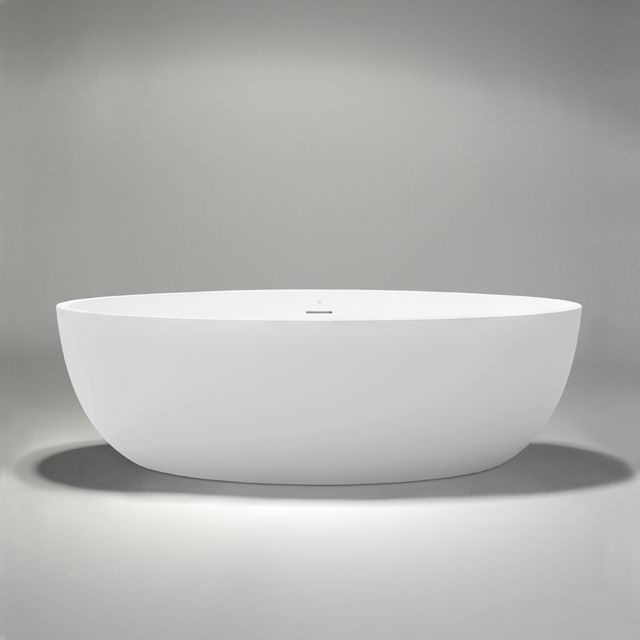 17 best images about luxury bathtubs on pinterest halo for Best freestanding tub material