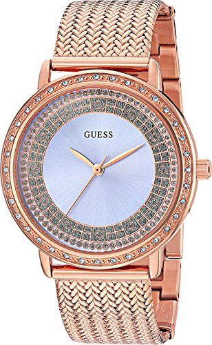 GUESS Womens Quartz Stainless Steel Casual Watch ColorRose GoldToned Model  U0836L1     Want to 672da44bb847