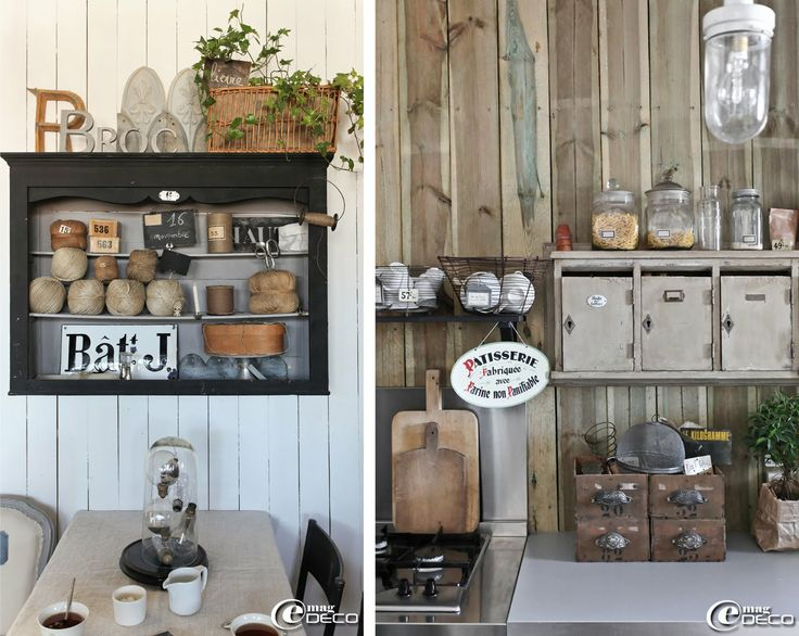 1000 id es sur le th me d cor primitive de cuisine sur for Interieur deco brocante