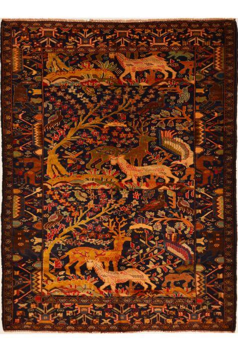 Balochi Afghan rug. Wool. Hand Knotted. 126 x 236 http://www.rugman.com/afghan-balochi-design-oriental-area-rug-medium-size-wool-yellow-rectangle-103-15008