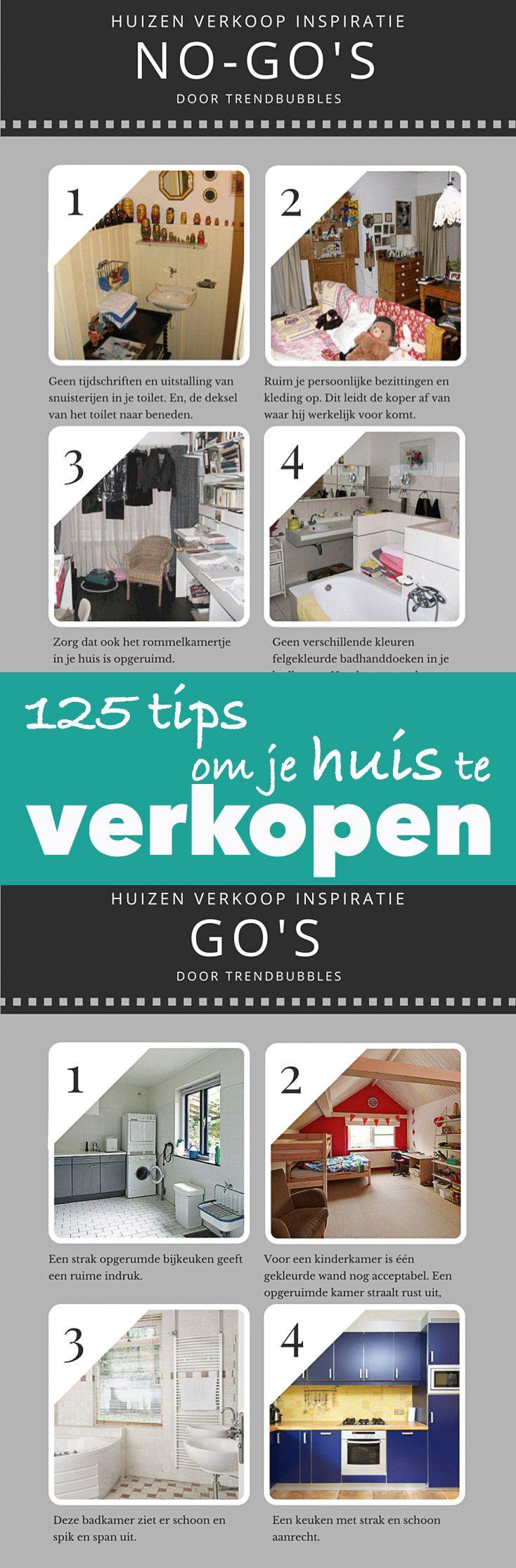 125 handige tips om je huis beter te verkopen. Kijk snel! | http://trendbubbles.nl/125-tips-om-je-huis-beter-te-verkopen/