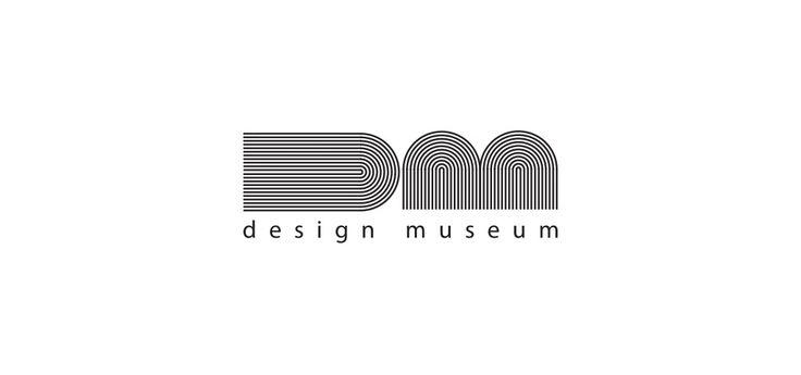 design museum logo b&w koncepcja identyfikacji wizualnej