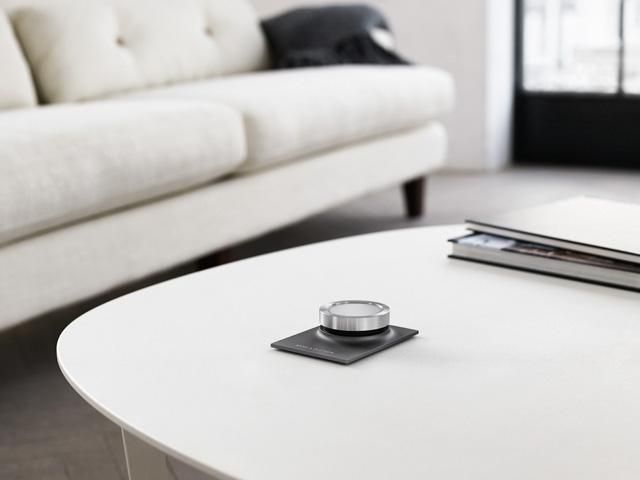 BeoSound Essence - a one-touch sound system. The simplest, most elegant way yet to enjoy iconic Bang & Olufsen sound.  Coming in April 2014