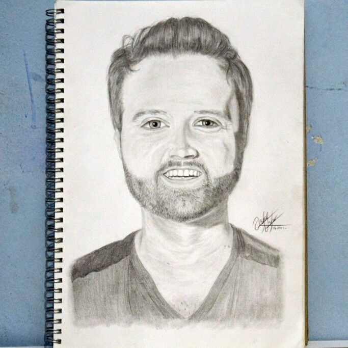 Title: Randy Houser The Cadillac Medium: Pencil on paper Duration: 6 hours (1 week)