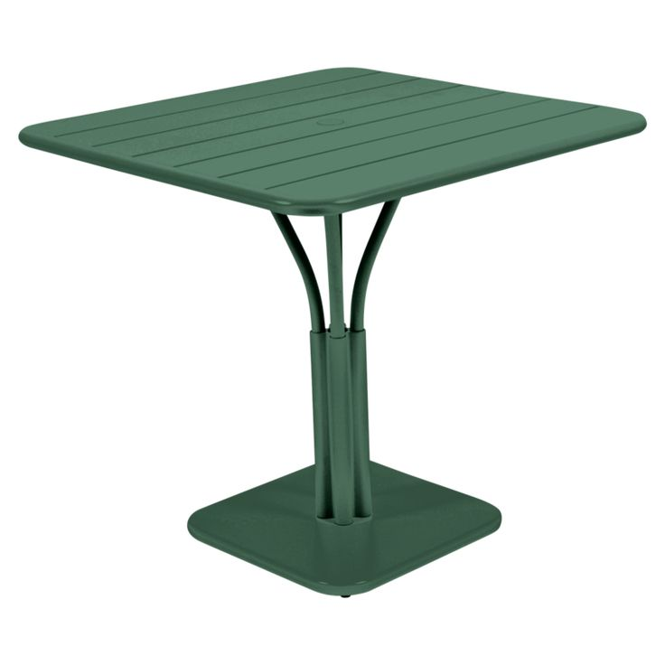 80x80 cm Luxembourg table, outdoor metal table