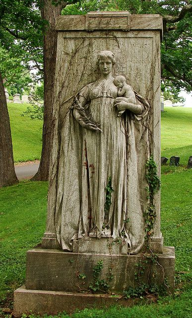 GRAVE OF MOTHER AND CHILD