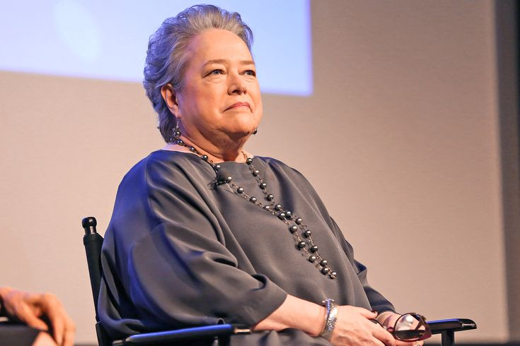 """She made us empathize with the murderous Madame LaLaurie in American Horror Story, played Charlie Sheen's cigar-smoking ghost on Two and a Half Men, and manned the lifeboats in Titanic. And of course, shebrought one of Stephen King's creepiest creations to life in Misery. Over the past four decades, Kathy Bates has racked up Emmys, Golden Globes, and an Oscar for her work in front of and behind the camera, turning us all into big fans — although maybe not Annie Wilkes' definition of """"b..."""