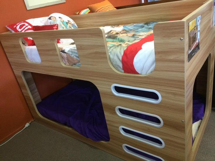 A trendy bunk bed from Forty Winks