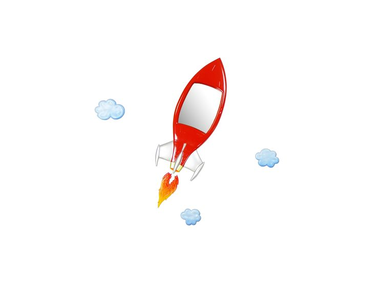 GO Rocket through the clouds..!!!
