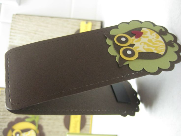 Bookmark - SU Owl Punch - for my students, beginning of year