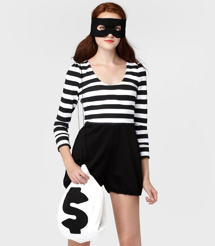 Bandit Costume - ideas for workday on Halloween