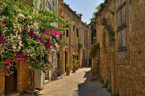 Beautiful streets of Kyrenia, Turkish Republic of Northern Cyprus - have been back to visit Cyprus so many times - so beautiful