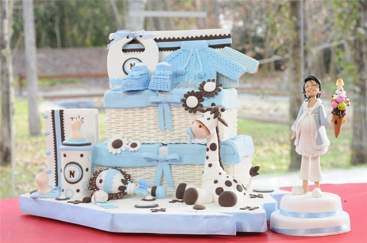 Baby Shower: Cakes Videos, Cakes Pop, Baby Shower Varon, Baby Shower Cakes, Decor Cakes, Dreamy Cakes, Cakes Baby, Celebracion En, Baby Shower