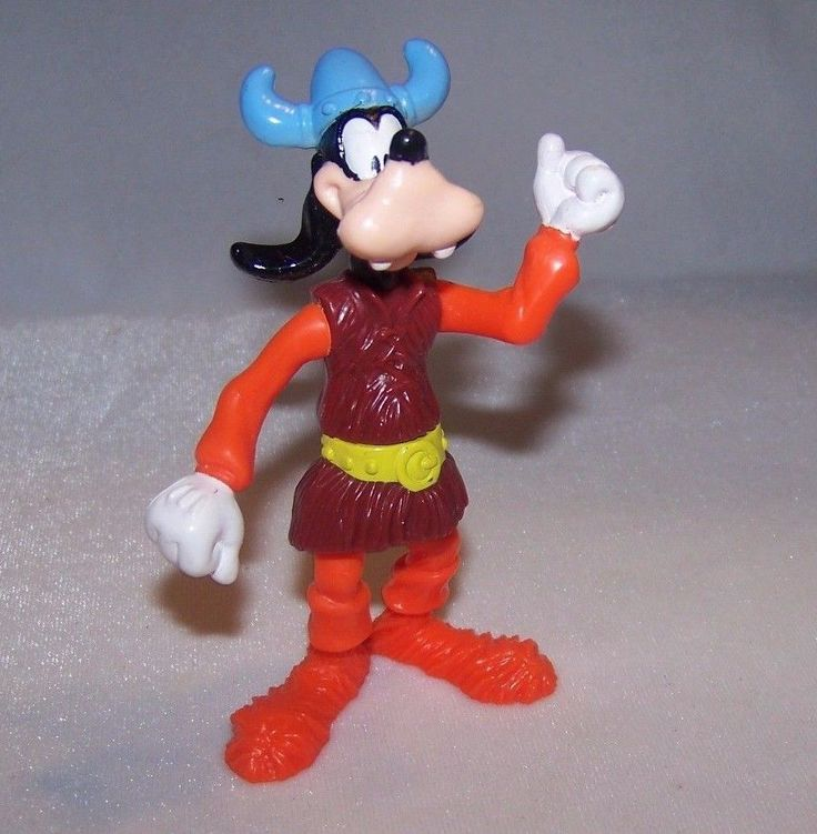 1993 Epcot Center Goofy in Norway McDonalds Happy Meal Toy Action Figure PVC #Disney