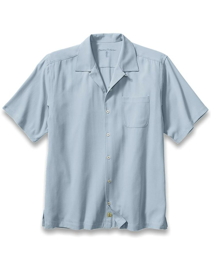 39 best tommy bahama solid color silk camp shirts images for Tommy bahama catalina twill silk camp shirt