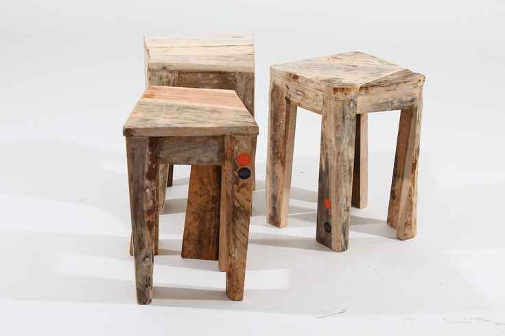 Wooden seats from Atelier Jungblut